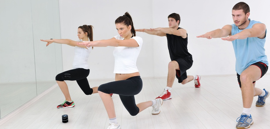 Na aerobiki